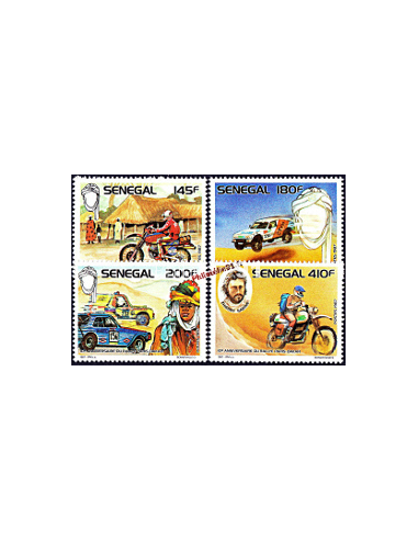 - SENEGAL - n° 750 à 753** - Rallye...