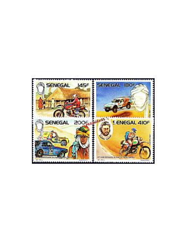 - SENEGAL - n° 750 à 753** - Rallye Paris-Dakar