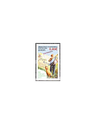 ANDORRE FRANCAIS - n° 580 - EUROPA 2003