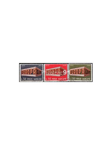 VATICAN - n°  488 à 490 - EUROPA 1969