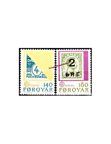 ILES FEROE - n° 37 à 38 - EUROPA 1979...