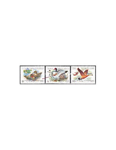 RUSSIE - n° 5641 à 5643 - Canards et...