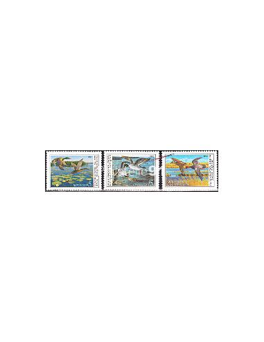 RUSSIE - n° 5761 à 5763 - Canards