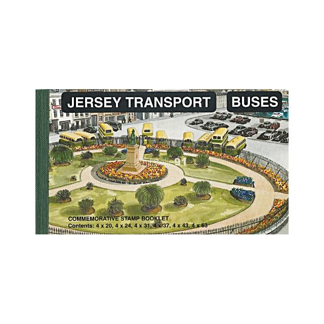 JERSEY - C 818 ** - Carnet de prestige - Bus