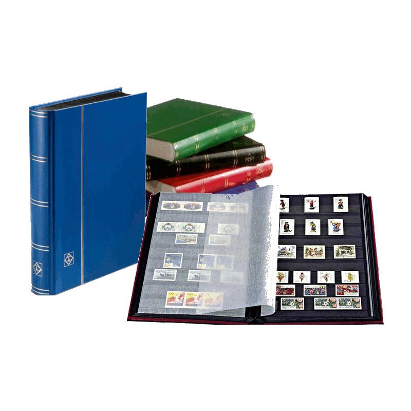 Leuchtturm -           Classeur BASIC 64 pages noires, non ouatiné