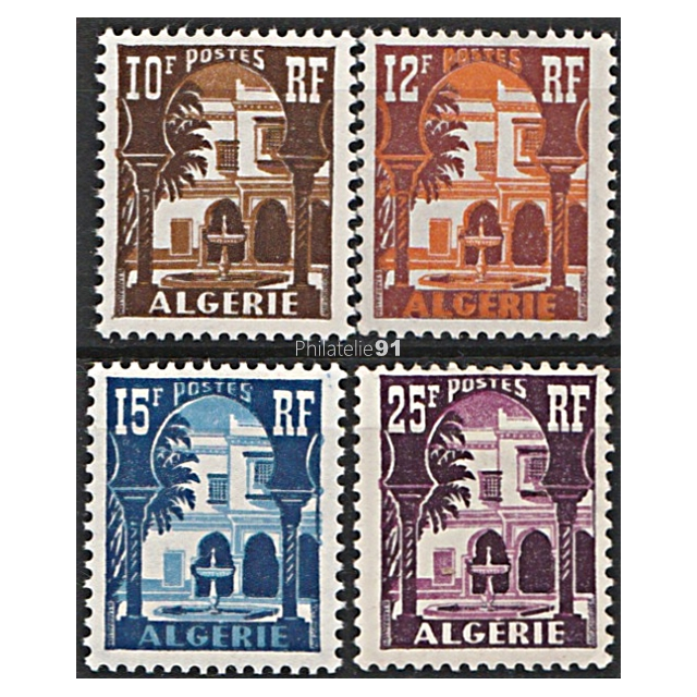 Topical Stamps Timbre Algerie Neuf N° 313b ** Cour Mauresque Du Musee De Bardo