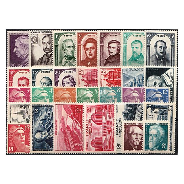 Année 1948 * - France - Neuve charnière