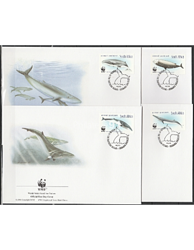 Afrique du Sud - FDC - Baleine - W.W.F.
