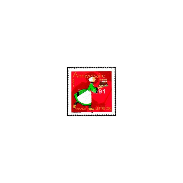 ADH. n°  52C - Bécassine (timbre 3778B sans logo)
