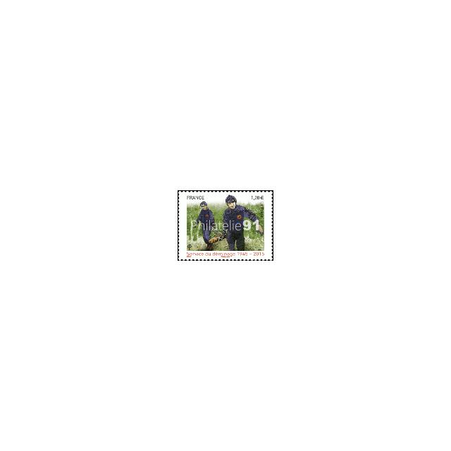 n° 4927 ** - Timbre Service de déminage 1945-2015