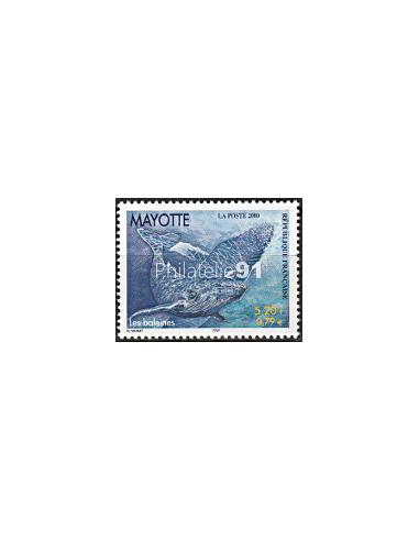 Mayotte - n°   82 ** - Les baleines