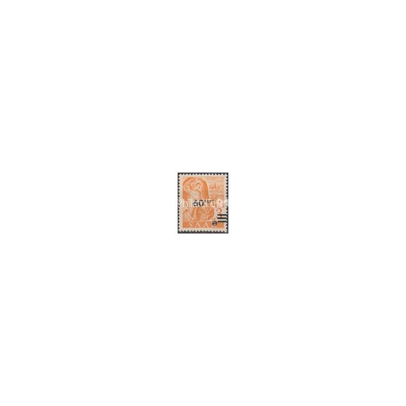 SARRE - Timbres n°  217A ** - Papier Jaunâtre
