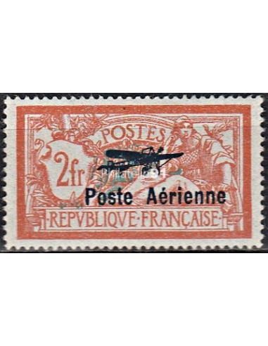 PA n°   1 ** Signé - Poste Aérienne -  Salon international de l'Aviation (160907-2)