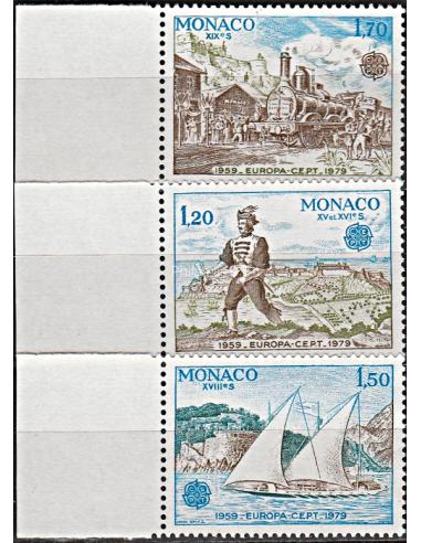 MONACO - n° 1186a à 1188a - Europa...