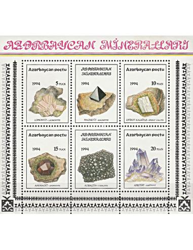 AZERBAIDJAN - BF n°    6 ** - Minéraux
