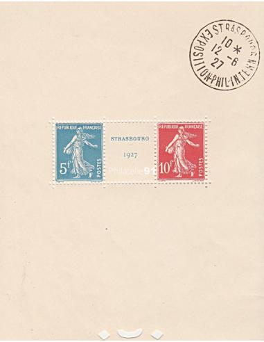 - BF    2a ** (avec cachet témoin) - Exposition philatélique de Strasbourg (170130-3)