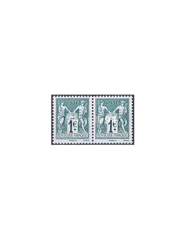 n° 5094 à 5095 ** (Paire horizontale) - Issus de Feuille 140 ans du type Sage 1876