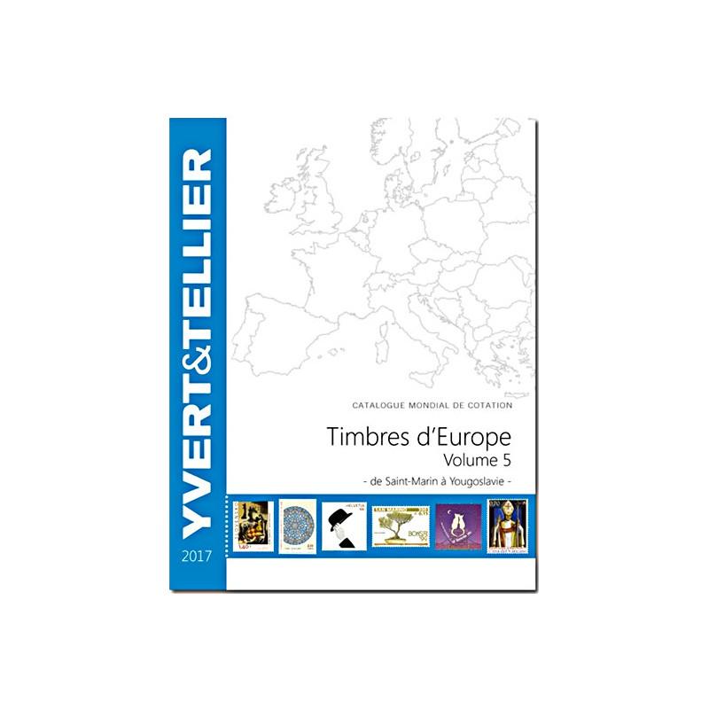 Europe 2017 - Volume 5 - Saint-Marin à Yougoslavie