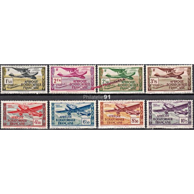 A.E.F. - PA n°   1 à 8  * - Aviation