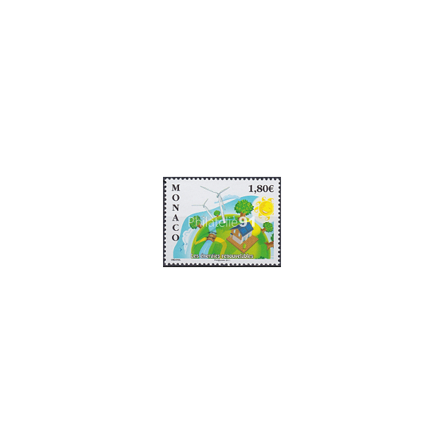 MONACO - n° 2763 ** - Énergies renouvelables