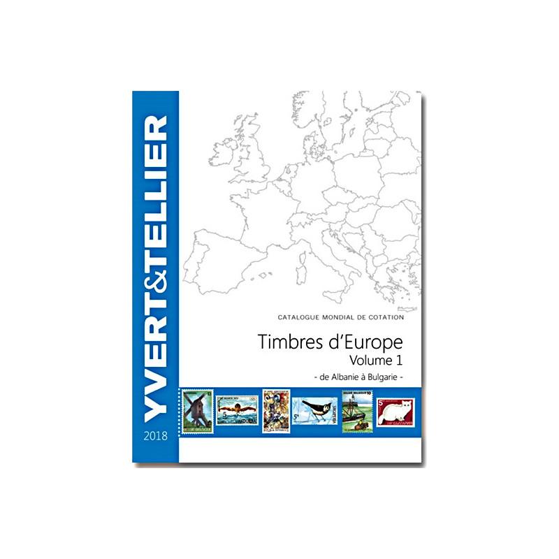 Europe  2018 - Volume 1 - Albanie à Bulgarie