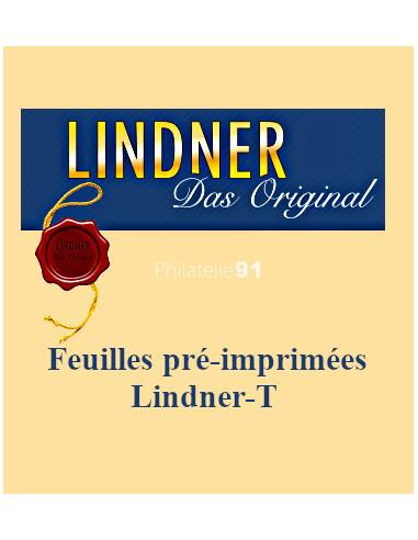 LINDNER   - Feuilles pré-imprimées...