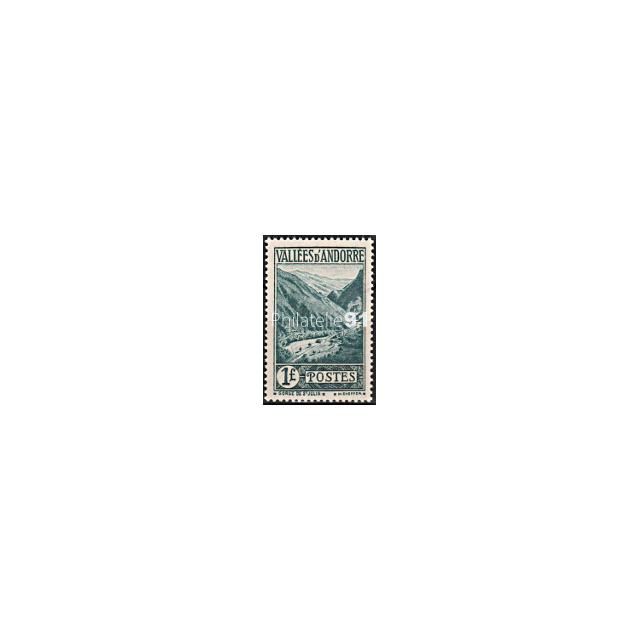 Andorre Français - n°  39 * - Paysage - Charnière (160429-1)
