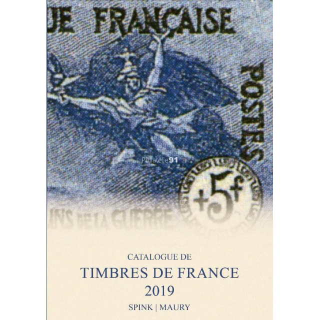 Maury France 2019  en 2 volumes - Timbres de France depuis 1849