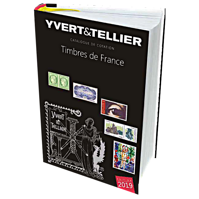 TOME 1 2019 - Timbres de France - Yvert&Tellier