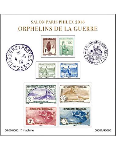 n° 5226 à 5233 (F5226) -  BLOC ORPHELINS DE LA GUERRE