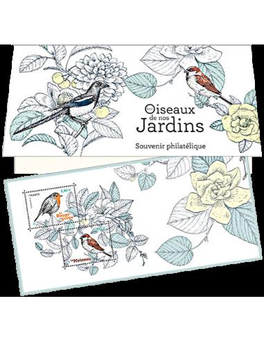 Bloc souvenir n°143 ** - Les Oiseaux de nos Jardins
