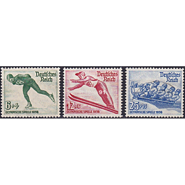 ALLEMAGNE - Reich - n°  559 à 561 ** - Jeux Olympiques d'hiver (181102-6)