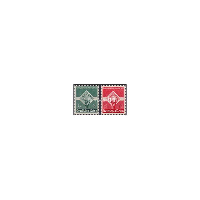 ALLEMAGNE - Reich - n°  530 à 531 ** - Concours professionnel de la jeunesse ouvrière (181102-8)