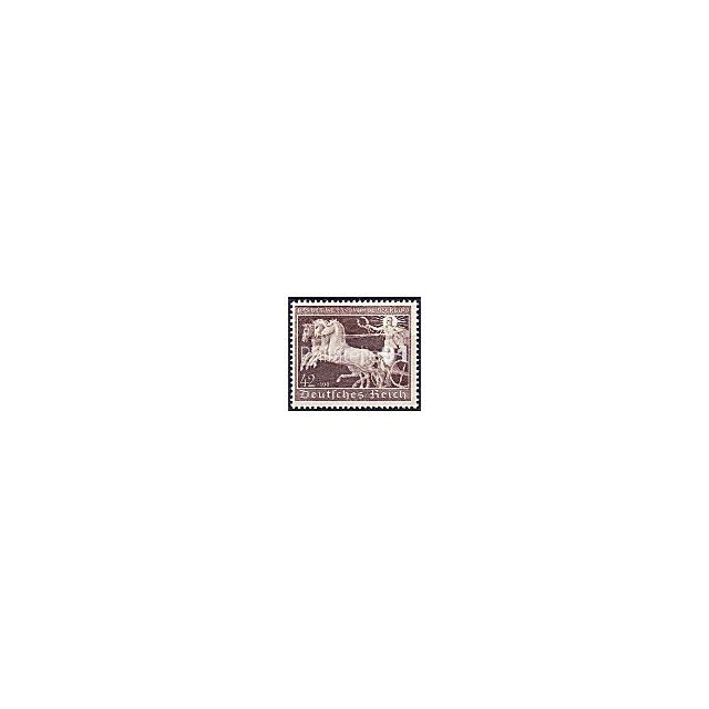 ALLEMAGNE - Reich - n°  639 ** - Course hippique du Ruban brun (181105-1)