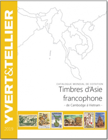 ASIE  FRANCOPHONE 2019 (timbres...