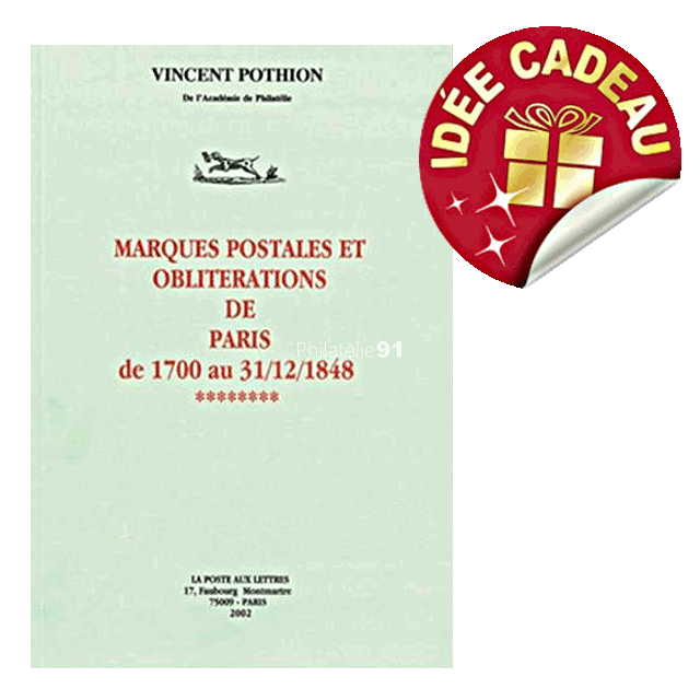 Catalogue des Marques postales et oblitérations de Paris