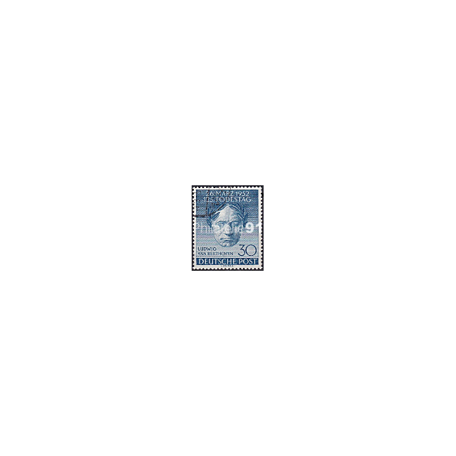 BERLIN - n°   73 Oblitéré - Anniversaire de la mort de Beethoven (190108-1)