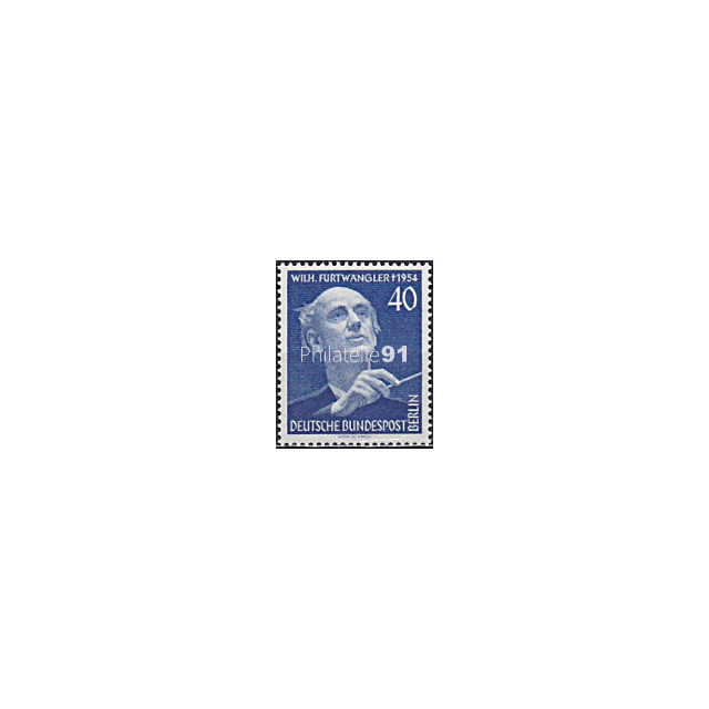 BERLIN - n°  113 ** - Festival de Musique - Hommage à Wilhelm Furtwängler (190109-6)