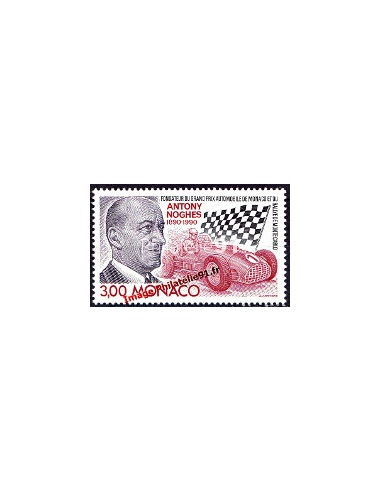 MONACO - n° 1716 - Antony Noghès - Grand Prix automobile
