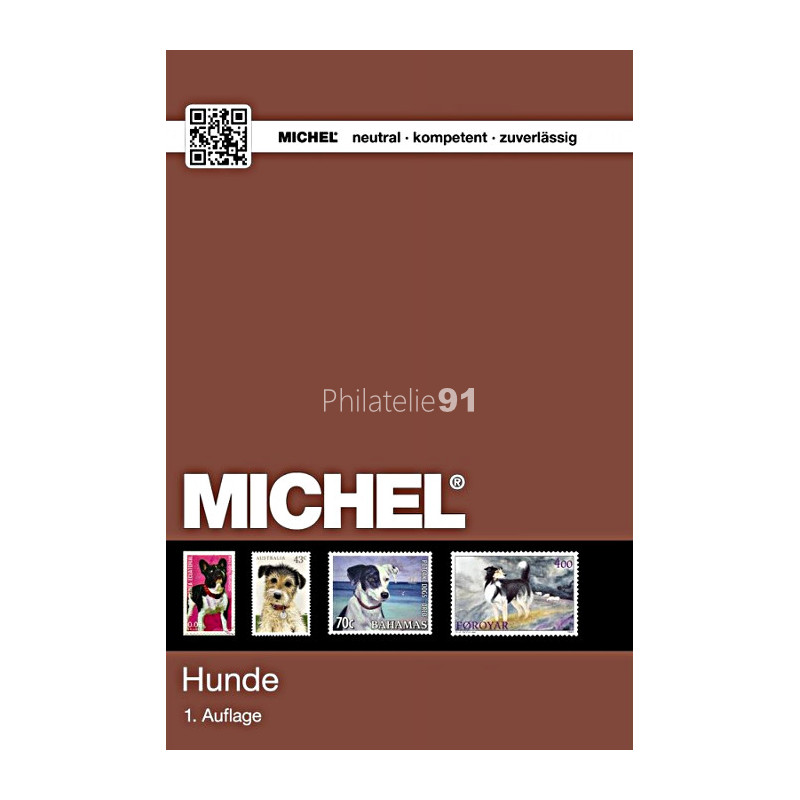MICHEL -  Catalogue des timbres Thématiques Chiens - Langue Allemande