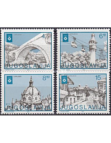YOUGOSLAVIE - n° 1838 à 1841 ** -...