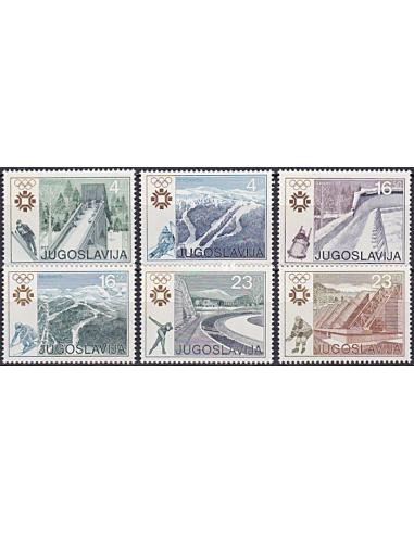 YOUGOSLAVIE - n° 1891 à 1896 ** -...