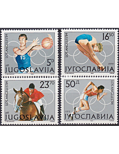 YOUGOSLAVIE - n° 1928 à 1931 ** -...