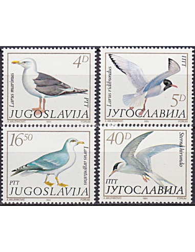 YOUGOSLAVIE - n° 1935 à 1938 ** -...
