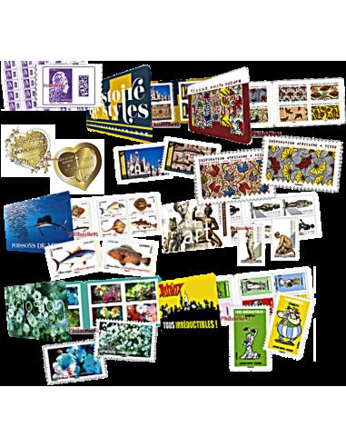 Totalité des timbres ADHESIFS et carnets pour vos jeux du 1er semestre 2019 - Yvert&Tellier