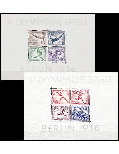 ALLEMAGNE  - Reich - BF n°    4 et 5...