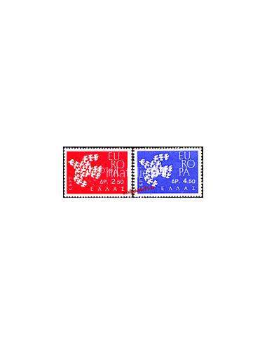 GRECE - n°  753 à 754 - EUROPA 1961