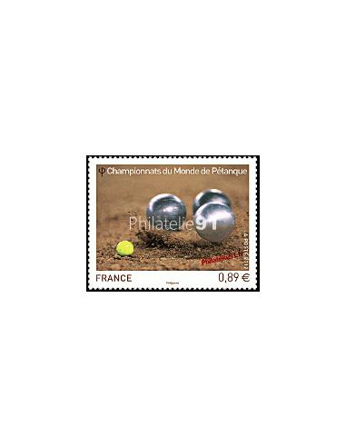 n° 4684 - Championnats du Monde de Pétanque