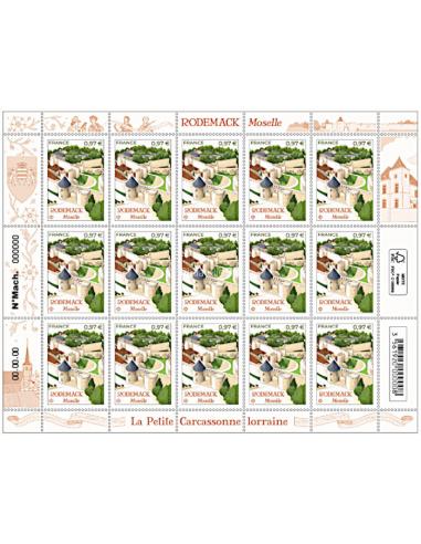 - F3 - Feuillet de France du timbre...