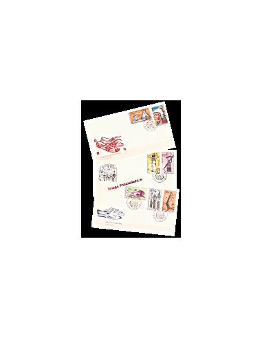 Tchécoslovaquie - Enveloppes premier...